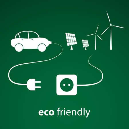 plugin: Eco Energy - Vector Illustration