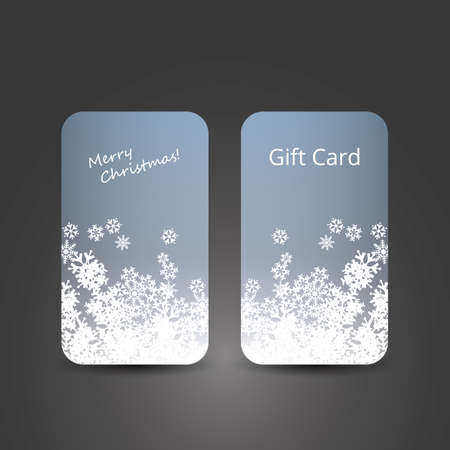 Gift Card - Abstract Background Vector