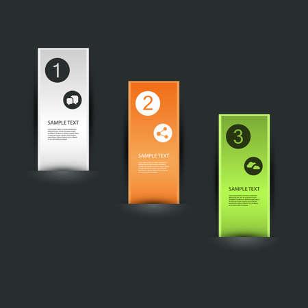 vertical bars: Minimal Infographics Design