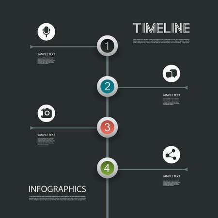 numbered: Minimal Infographics Design