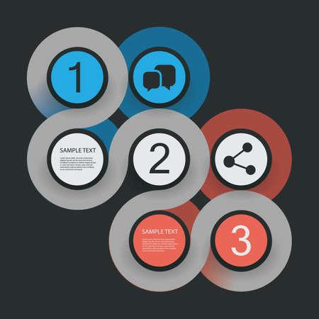 Minimal Infographics Design Vector