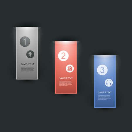 Minimal Infographics Design - Advertising Board Vector