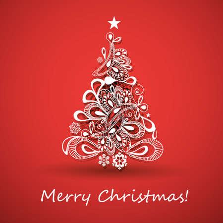 christmas card background: Christmas Greeting Card
