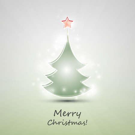 xmas star: Christmas Card