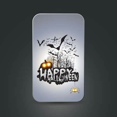 Halloween Card Stock Vector - 22846275