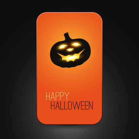 Halloween Card Stock Vector - 22846278