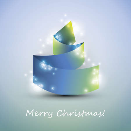 original sparkle: Origami Christmas Tree Card