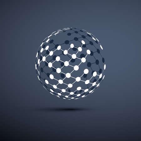 esfera: Redes - Globo Diseño