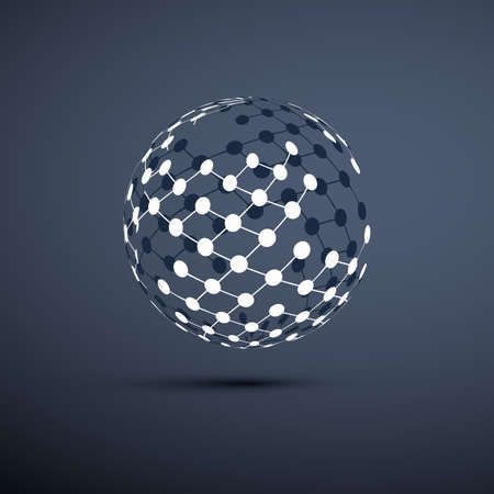 Reti - Globe design Vettoriali
