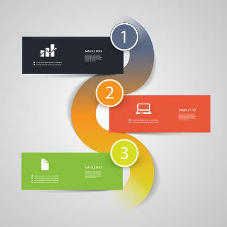 Infographic Design Stock Vector - 24054433