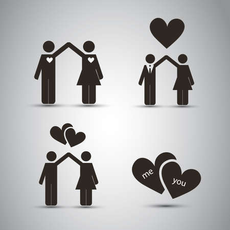 Love - Icon Designs Vector