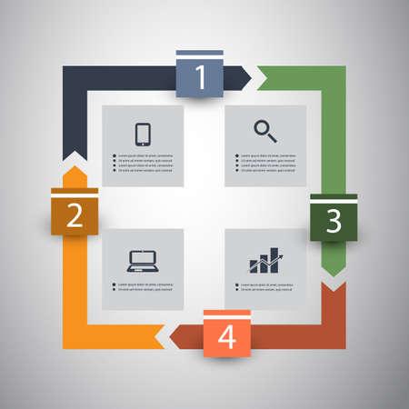 Infographic Design Stock Vector - 24246832