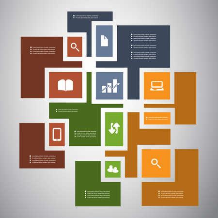 Infographic Design Stock Vector - 23662043