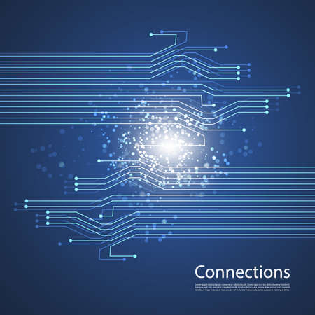Connections - Networks Graphic Design Vector
