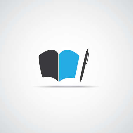 encyclopedias: Notebook Icon Design