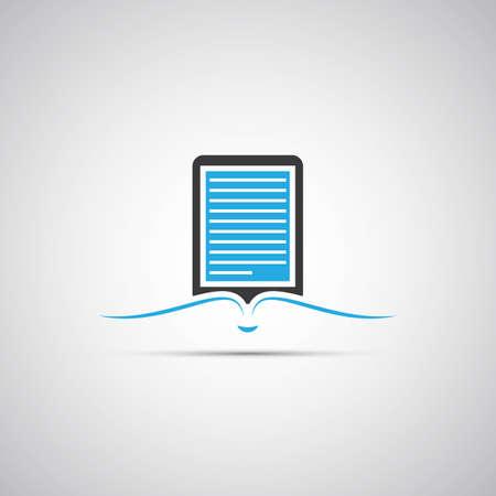 ebook reader: E-Book Reader Icon Design