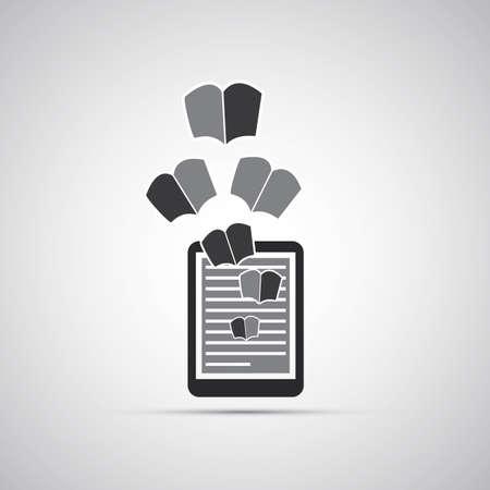ereader: E-Book Icon Design