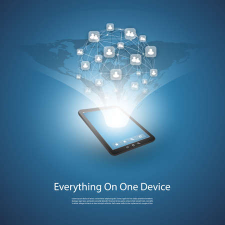 all in one: Everything On One Device - Design Concept