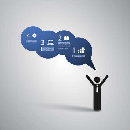 manos unidas: Dise�o de Infograf�a Vectores