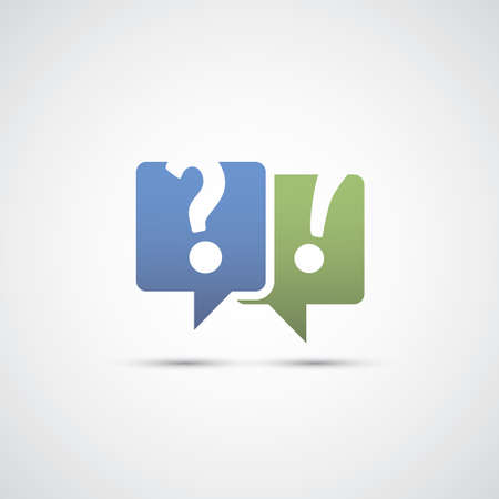 speech marks: Talk About It - Dialog and Discussion Icon