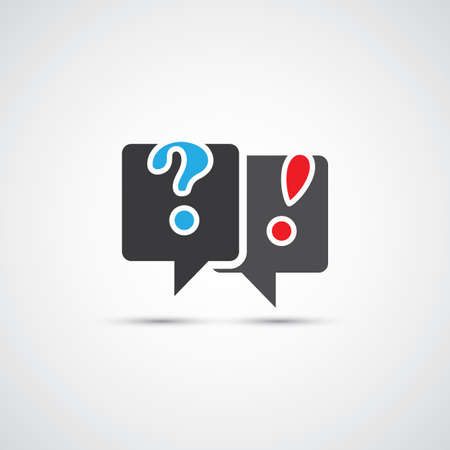 Talk About It - Dialog and Discussion Icon Vector