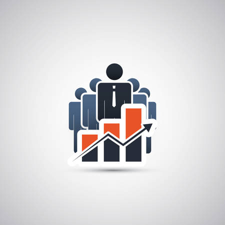 Good Businessmen - Icon Concept Design Vector