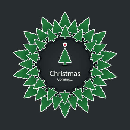 positiveness: Se acerca la Navidad - tarjeta de Navidad Dise�o Vectores