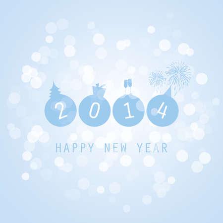 date night: New Year Card - 2014