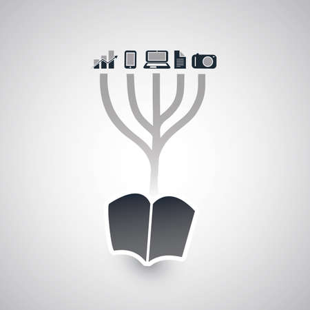 knowledge tree: The Tree of Knowledge - Design Concept Illustration
