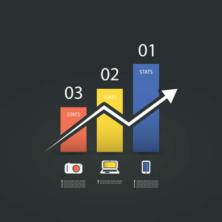 Infographic Design - Chart Vector