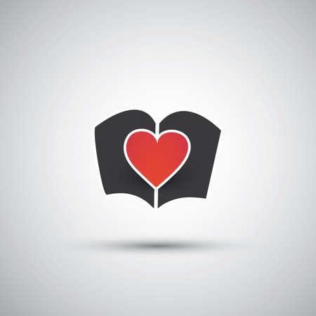 databank: I Love Books - Book Icon Design