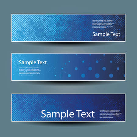 grungy header: Banner or Header Designs with Blue Abstract Pattern
