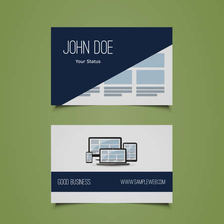dev: Business Card Template - Corporate Identity Design