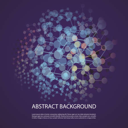 Abstract Background - Network Design for Your Business