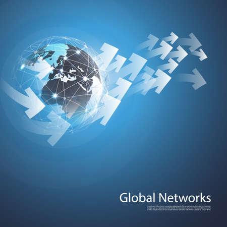 Global Networks - EPS10 Vector for Your Business Illustration