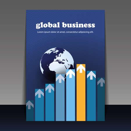 advertising column: Flyer or Cover Design - Global Business