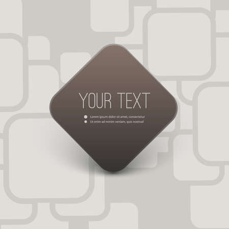 text box design: Abstract Background with Minimal Round Corner Square Text Box Design