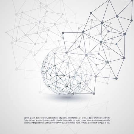 Cloud Computing y Redes Concept Foto de archivo - 29393833