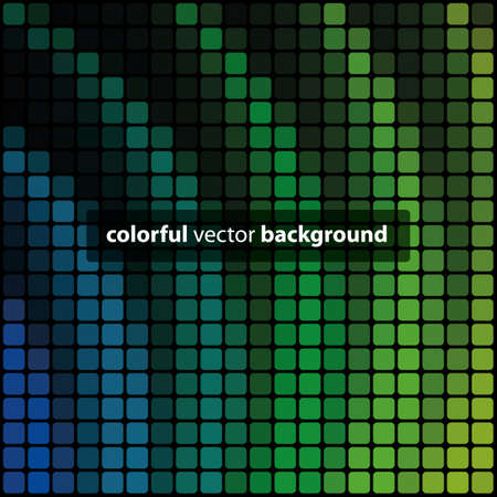 Abstract Multicolored Mosaic Texture Background Vector