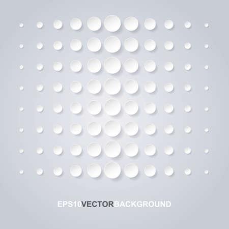 decreasing in size: Cerchi astratti design Vettoriali