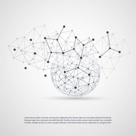 Cloud Computing and Networks Concept Vector
