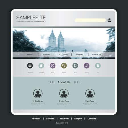 central park: Plantilla de sitio web para su negocio