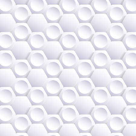 Abstract Hexagon Mosaic Background Vector