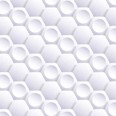 Abstract Hexagonal Mosaic Background Vector