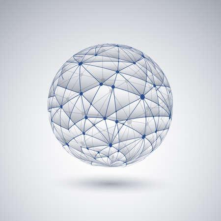 Networks - Globe Design Vector