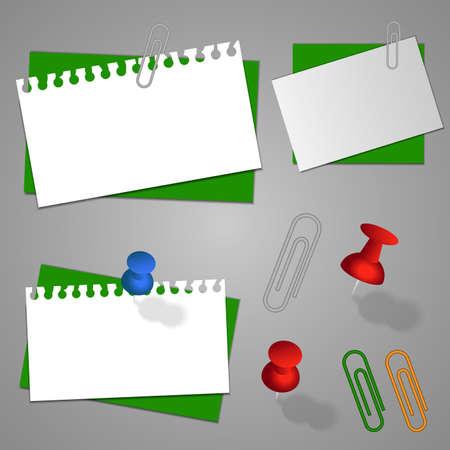 carta da lettere: Raccolta di carta da lettere, buste e accessori modelli Vettoriali