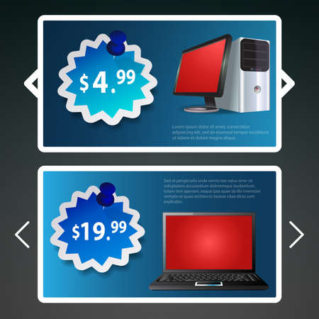 informatics: Header or Banner Designs for Product Selling
