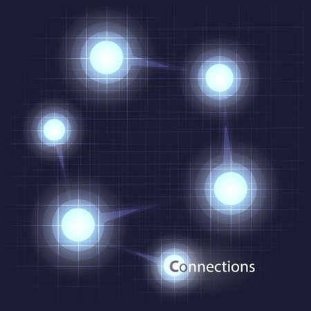 Networks Concept Design Vector