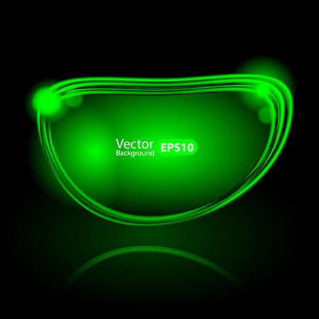 Shiny Speech Bubble Template Vector