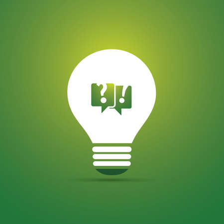 Green Eco Energy Concept Icon - Talk About Sustainability Vector